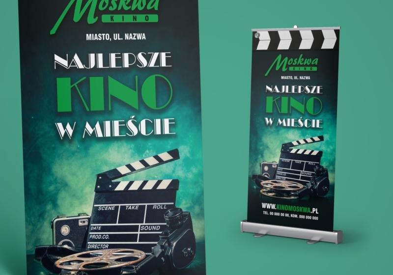 KINO MOSKWA / Rollup